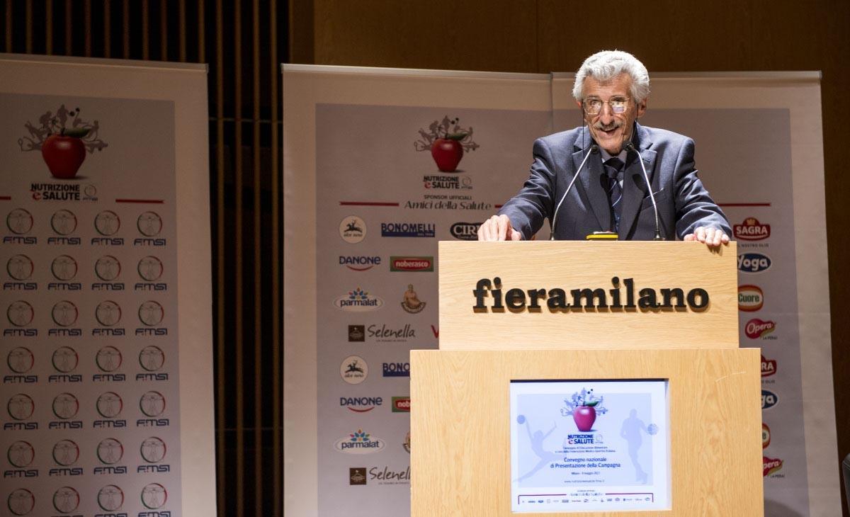 Prof. Arsenio Veicsteinas - Presidente della Comitato scientifico-culturale FMSI